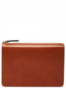 Maison Margiela Laconic leather clutch