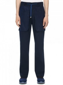 Y3NOLOGY Navy casual trousers