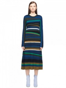 KENZO Broken Stripes Dress