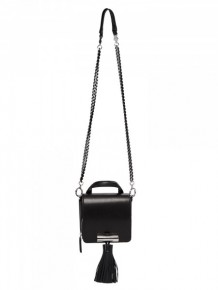KENZO Black Silver Shoulder Bag