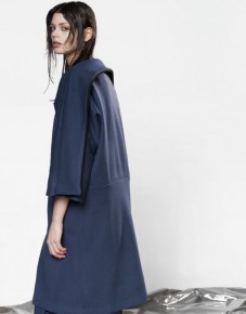 Aegean geometrical shapes coat