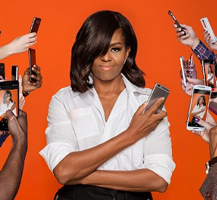 United States First Lady Michelle Obama