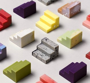 Complements Modular chocolates to pair and share
