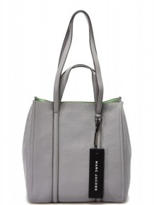 Marc Jacobs oversized Tag tote bag (Grey)