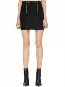 Alexander Wang double zipped skirt