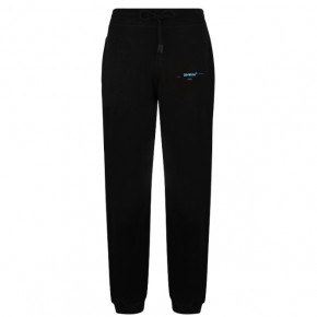 OFF WHITE GRADIENT ARROW JOGGING BOTTOMS