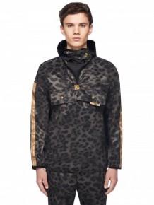 Astrid Andersen Printed Velvet Hoodie Jacket