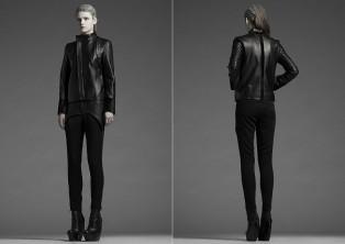 Leather Pocket Trouser