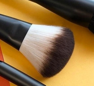 The five basic makeup brushes