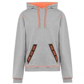 MOSCHINO NEON HOODED SWEATSHIRT