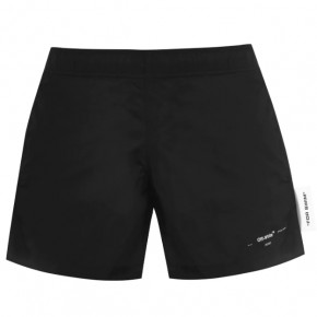 OFF WHITE LOGO SWIM SHORTS