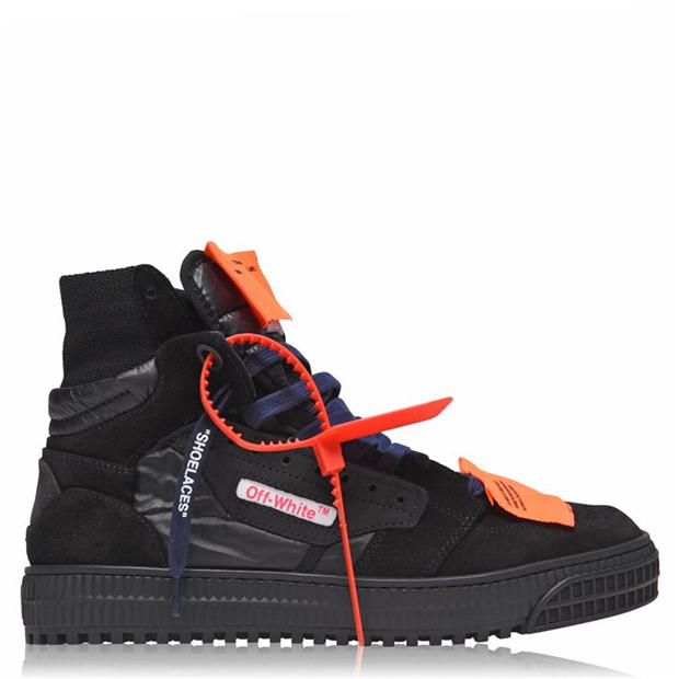 OFF WHITE OFF COURT HIGH TOP TRAINERS