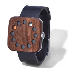 Wood watch design
