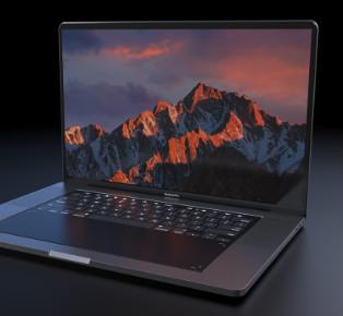 MacBook Pro 2018 Concept by Daniel Brunsteiner