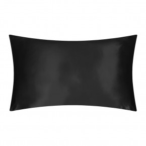 Slip Silk Pillowcase Black Queen Size