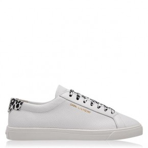 SAINT LAURENT ANDY LOW TOP TRAINERS