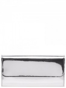 Maison Margiela Metallic leather wallet