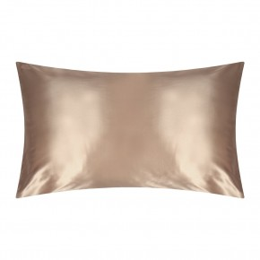Slip Silk Pillowcase Caramel Queen Size