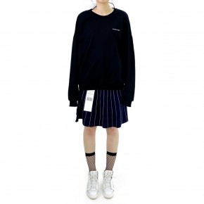 Y3NOLOGY Unisex Oversized Sweatshirt In Black