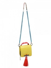 KENZO Yellow Sailor Shoulder Bag