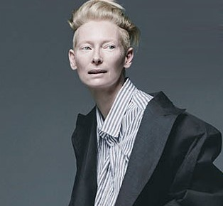 The theme of womenhood Tilda Swinton