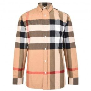 BURBERRY WINDSOR LONG SLEEVED SHIRT