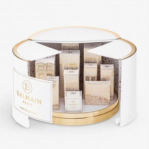 BALMAIN The City of Lights large advent calendar 2021 hairstyles limited edition