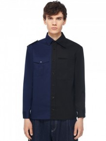 Y3NOLOGY Navy and Black shirt
