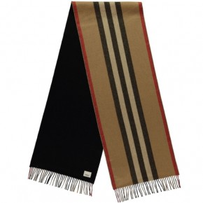BURBERRY REVERSIBLE ICON SCARF