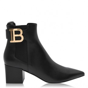 BALMAIN Black BOOT SALOME