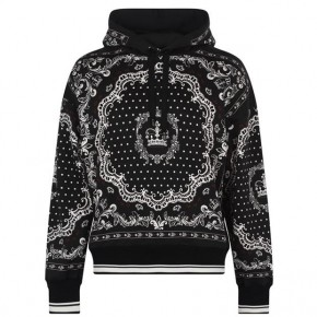 Dolce and Gabbana BANDANA OVER THE HEAD HOODIE