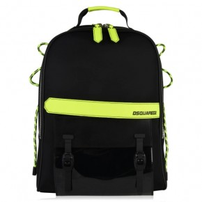 DSQUARED2 FLUORESCENT TRIM BACKPACK