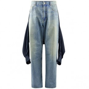 BALENCIAGA TIED UP JEANS BAL TIED UP JEANS SN12