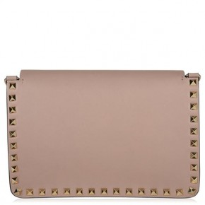 Valentino Pink Rockstud Shoulder Bag