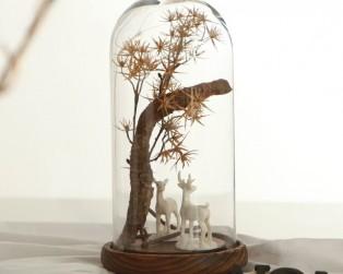 DIY Art Plant Glass