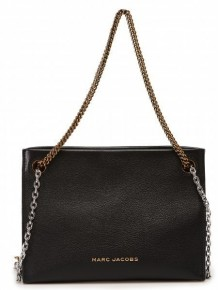 Marc Jacobs double chain crossbody bag