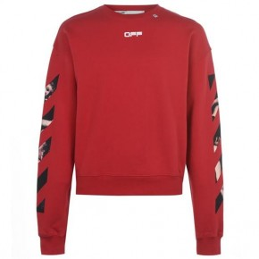OFF WHITE CARAVAGGIO ARROW SWEATSHIRT