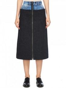 Maison Margiela Denim Waist A line skirt