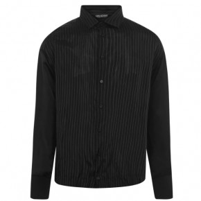 Neil Barrett Pinstriped long sleeved shirt