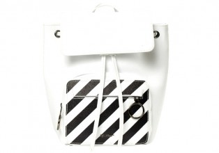Off White WHITE DIAGONALS BACKPACK