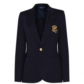 POLO RALPH LAUREN BLAZER NAVY GOLD