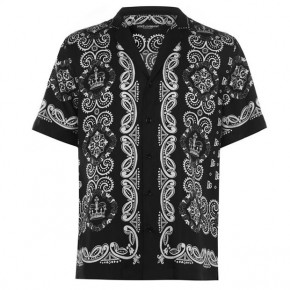 Dolce and Gabbana BANDANA SHORT SLEEVED SHIRT