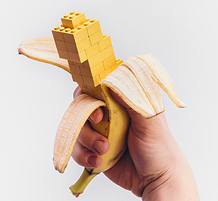 Lego photo project by Michal Kulesza