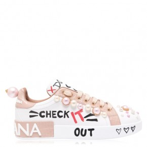 DOLCE AND GABBANA DG PORTO PEARL Sneakers