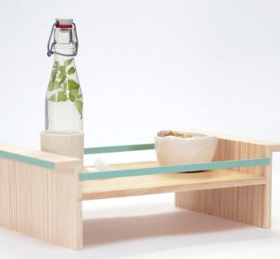 BEC Tray Eco Friendly Design from scrap wood