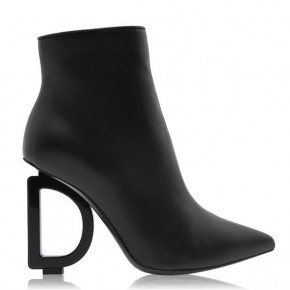DOLCE AND GABBANA DEVOTION HEEL BOOTS