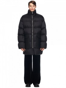 Rick Owens Black Long Jacket