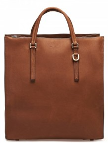 Rick Owens Brown leather Tote bag
