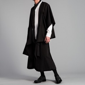Oversized judo cardigan and trousers