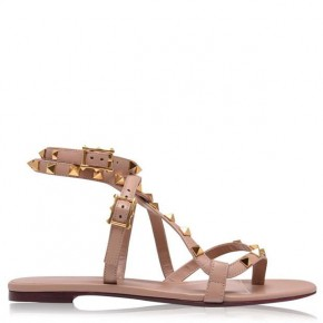 VALENTINO Thong Rockstud Flat Sandals